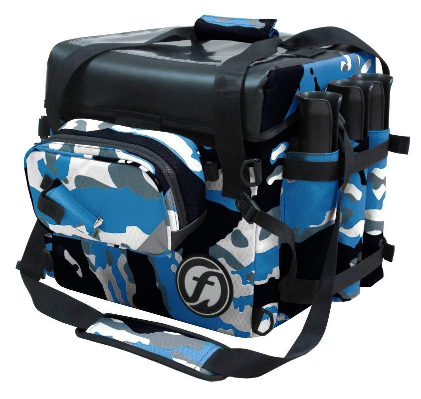 ribolovna sanduk torba feelfree camo crate bag 76l